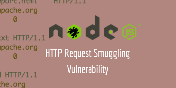 Node.JS Request Smuggling